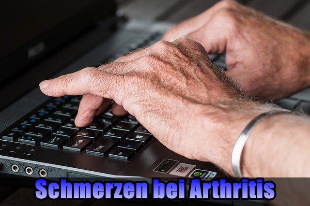 Schmerzen bei Arthritis